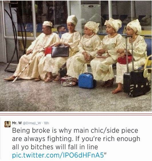 alaafin of oyo and four wives