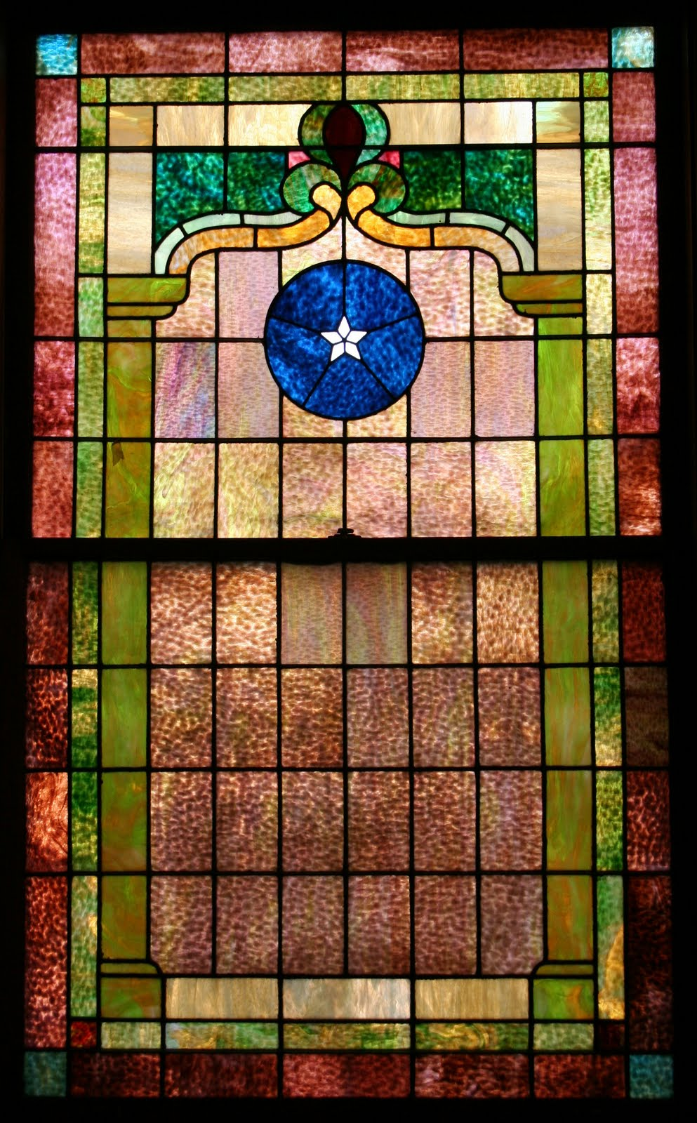 While Simple In Design The Stained Glass Windows Contain Some Of Most Vivid And Striking Colors Ive Seen These Original To Church