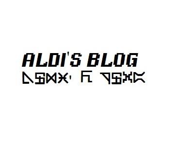 Aldi's Blog