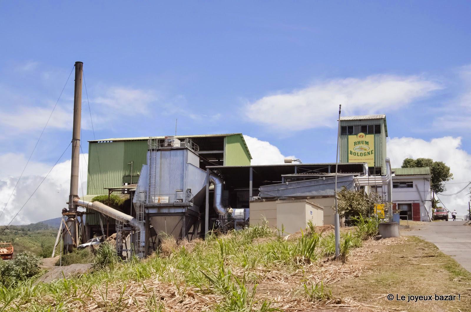 Guadeloupe - distillerie Bologne - rhum