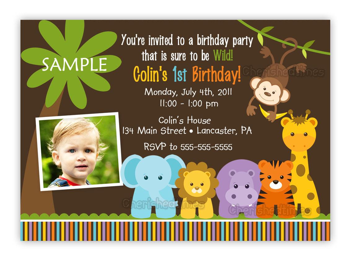 Theme Birthday Party, Jungle Birthday Party Ideas  Birthday Party ...
