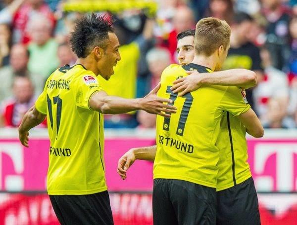 Celebración del Dortmund