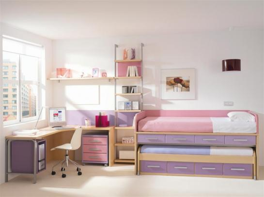 Cuartos juveniles imagui for Dormitorios femeninos