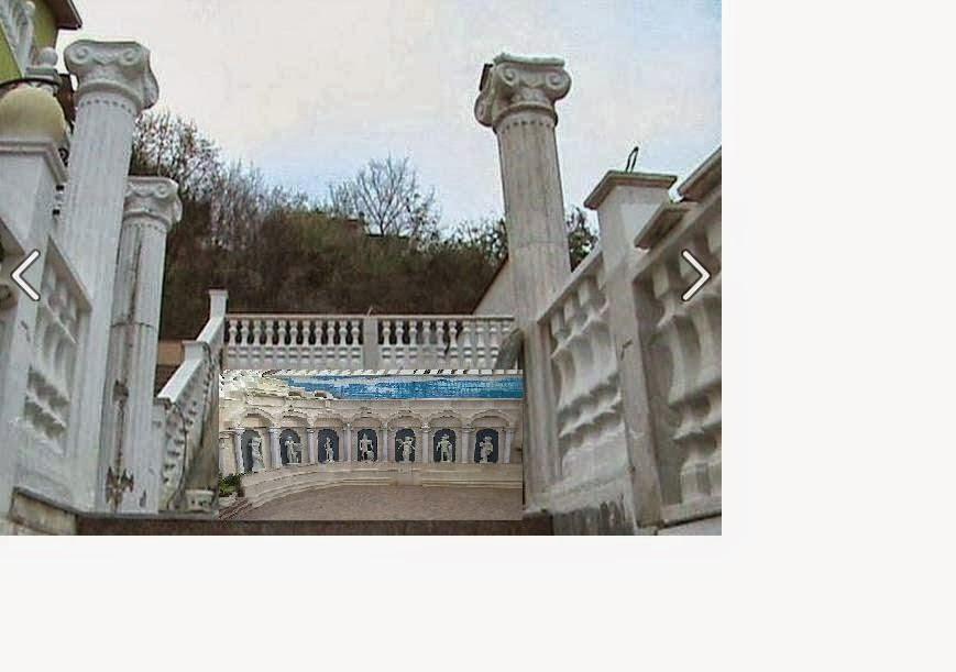 Римски колони и амфитеатър