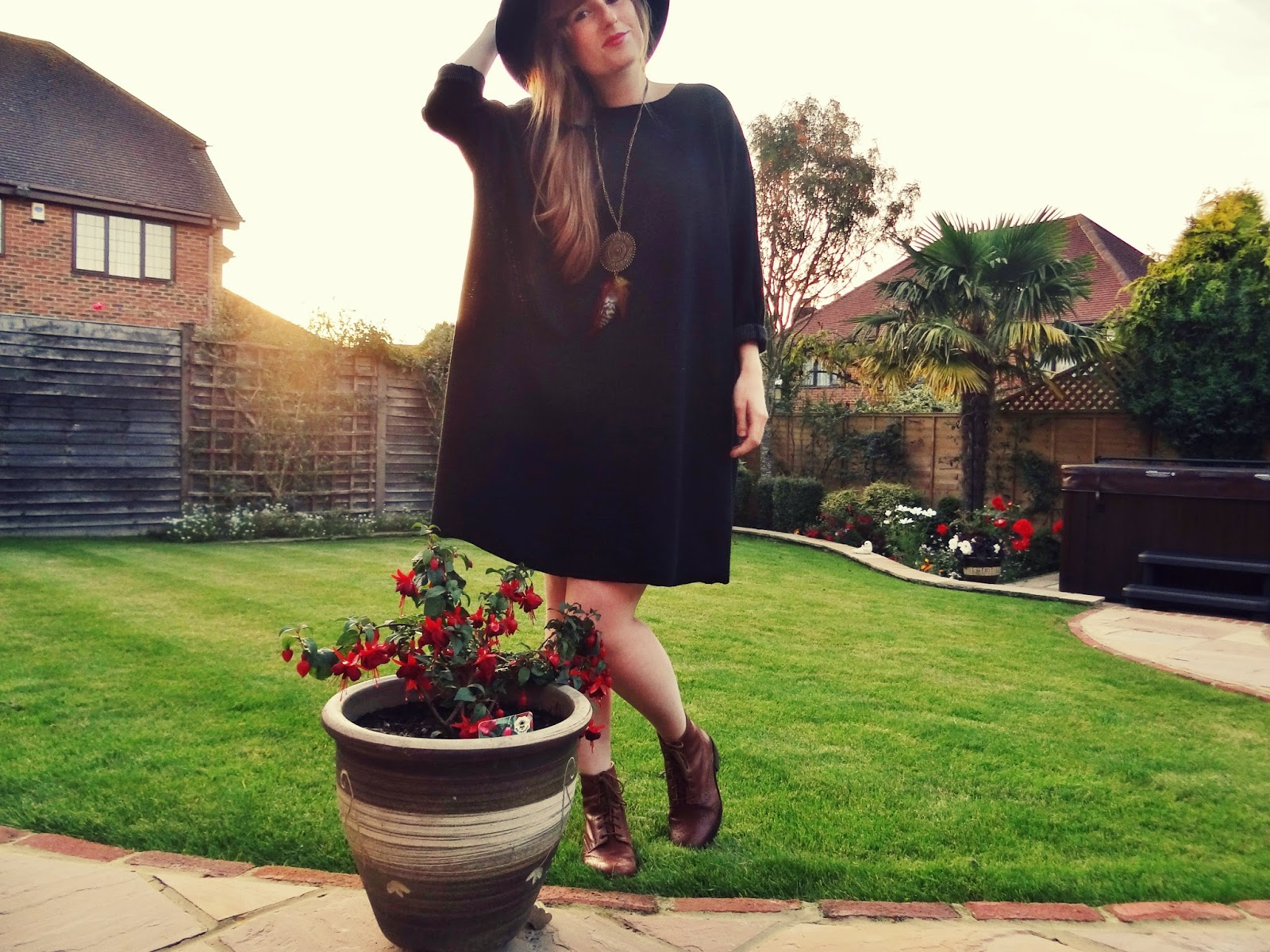 oversized vintage jumper