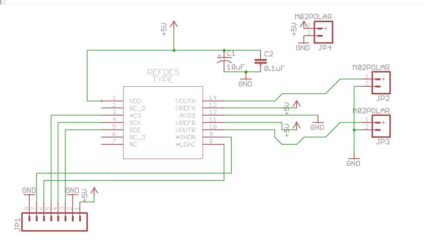 Synth Hacker: First PCB - MCP4922 DAC