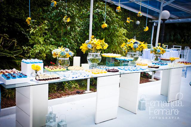 decoracao para casamento azul marinho e amarelo : decoracao para casamento azul marinho e amarelo:Casada e Apaixonada: Decoração Azul e Amarelo