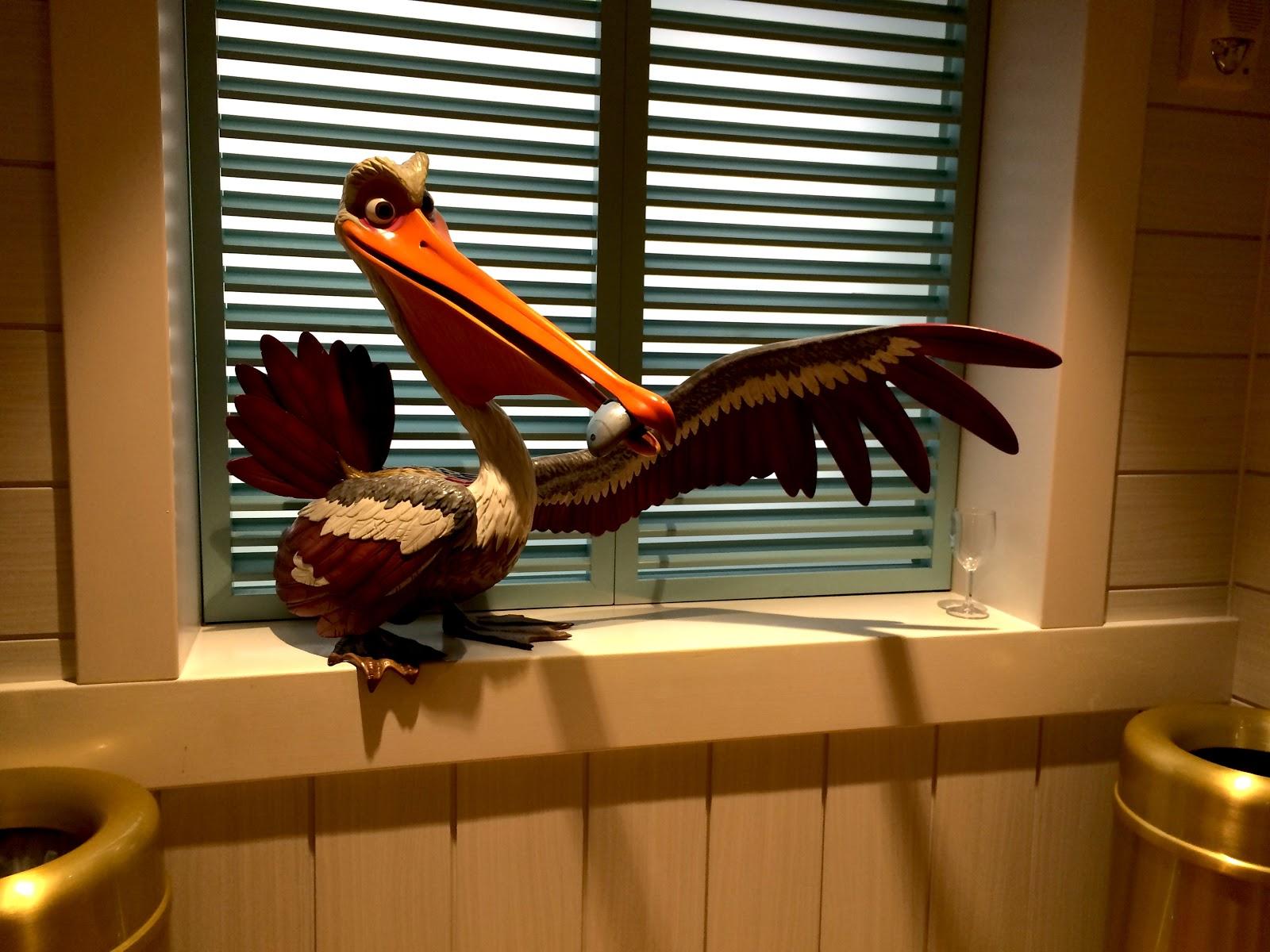 Nigel Finding Nemo Flying