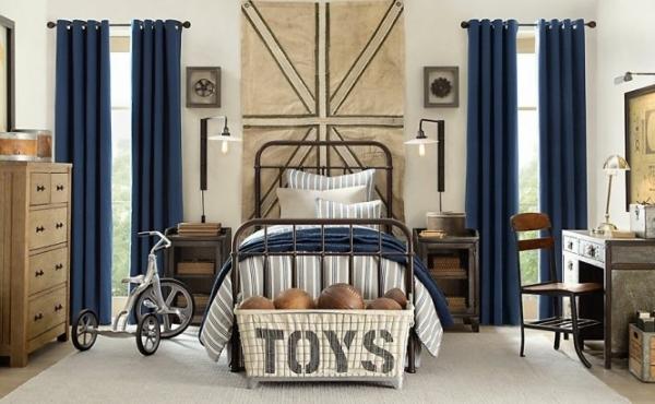 Dormitorios estilo industrial para chicos dormitorios for Dormitorio estilo nordico industrial