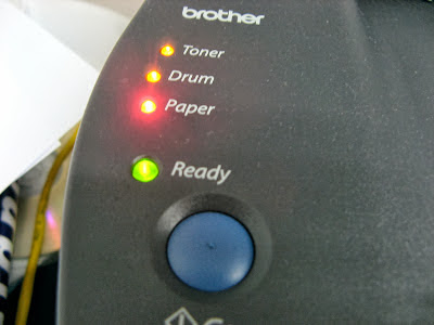 Brother printer presenting toner error by liewcf