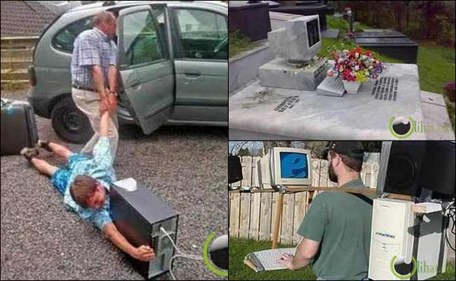 10 Manusia ini tidak Bisa Hidup tanpa Komputer, Luar Binasa