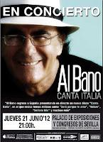 Albano en Sevilla, actuación el 21 de junio de 2012 en el Auditorio Al-Ándalus de Fibes