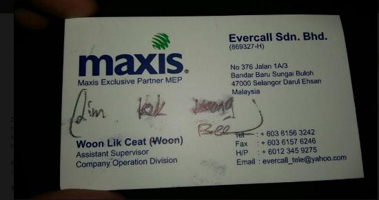 Kakitangan Maxis Racist, Layan Pelanggan Ikut Suka Hati Mak Bapak Dia