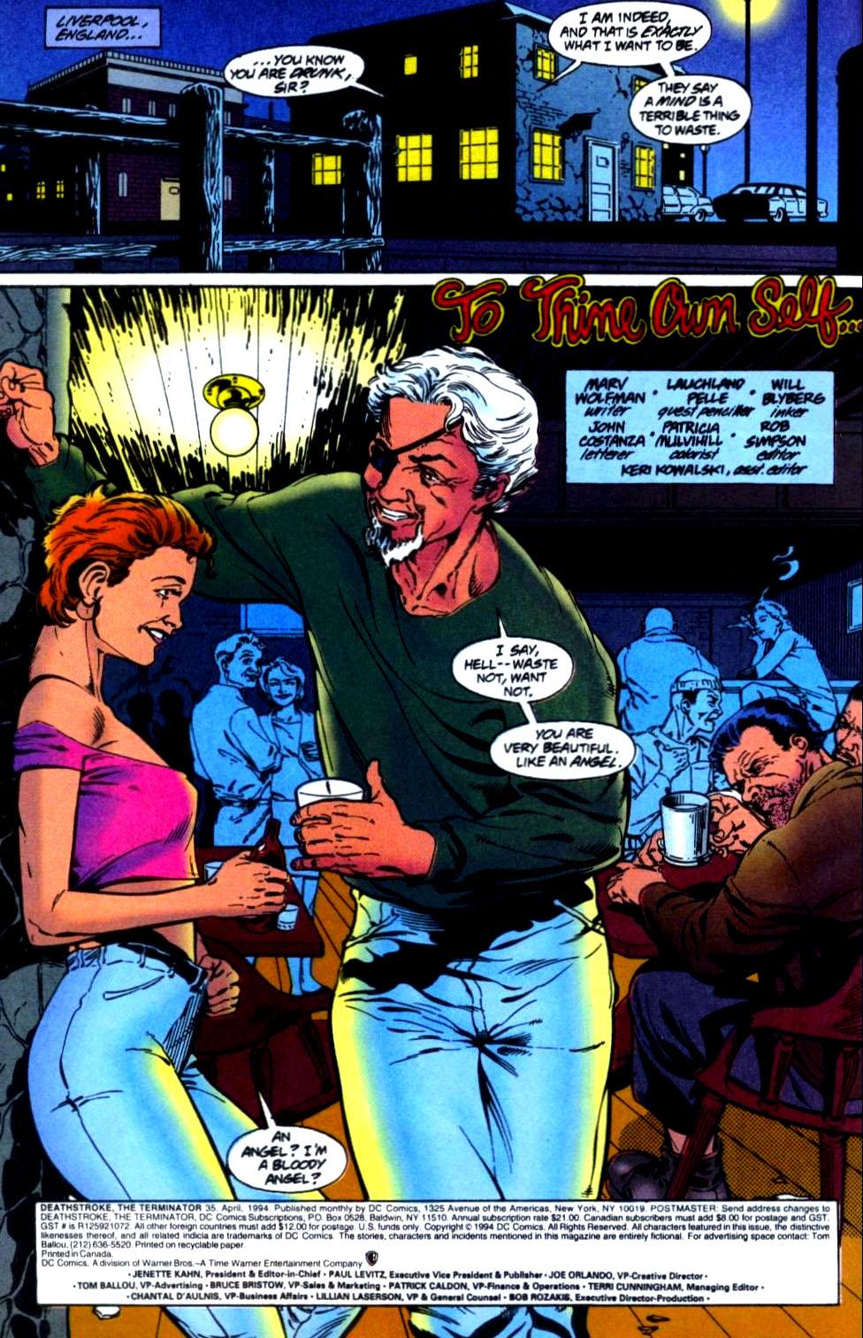 Deathstroke (1991) Issue #35 #40 - English 3