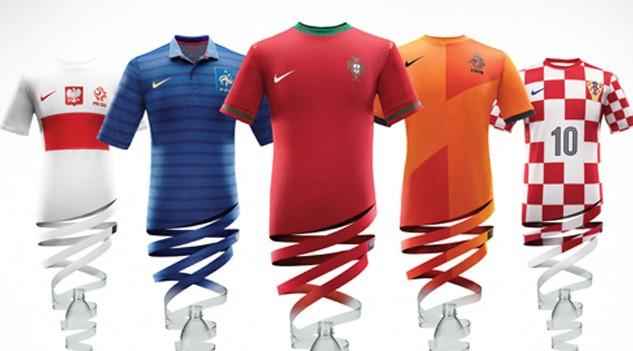 e63b14f26d Veja os uniformes que as seleções fornecidas pela Nike usarão na Euro 2012