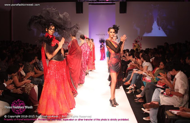 Satya Paul's Collection at ABIL Pune Fashion Week 2012 ~ Exclusive HQ Images