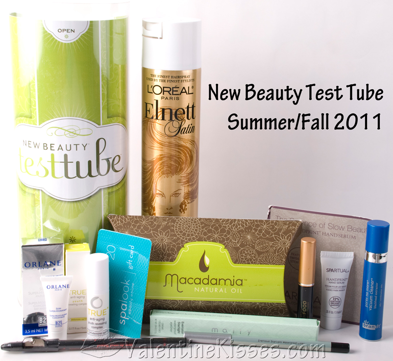 valentine kisses new beauty test tube summer fall 2011