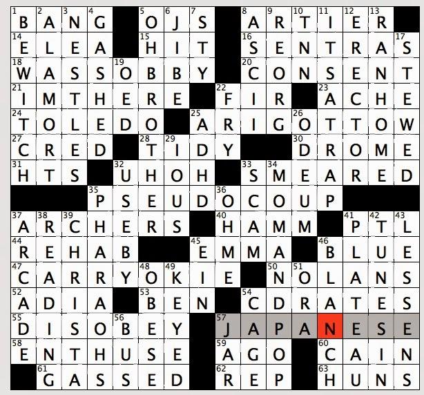 Rex Parker Does The Nyt Crossword Puzzle Home Of Ancient Greek Scholars Thu 1 6 14 Director Christopher Actor Lloyd Teacher Astronaut Mcauliffe
