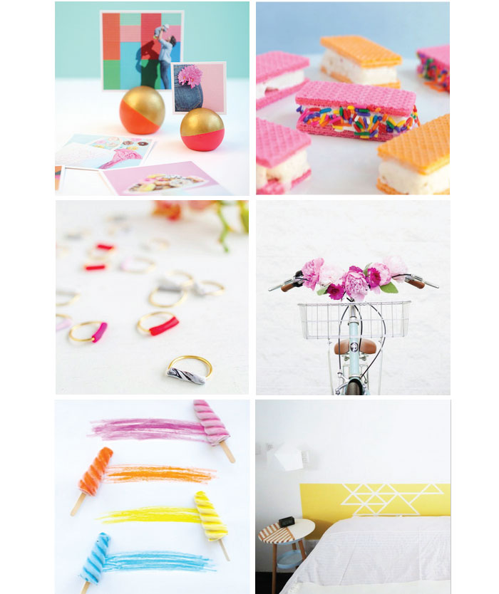 12 Rainbow-Coloured Weekend Projects!