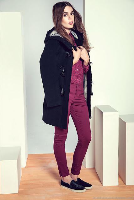 Moda invierno 2015 ropa de mujer.