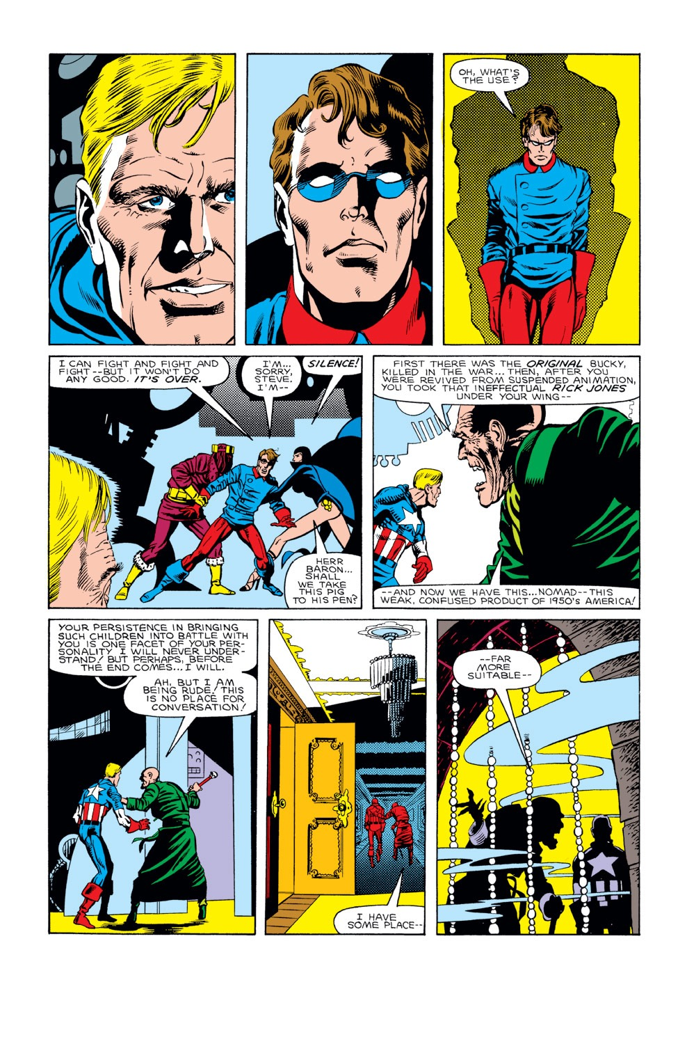 Captain America (1968) Issue #298 #226 - English 5