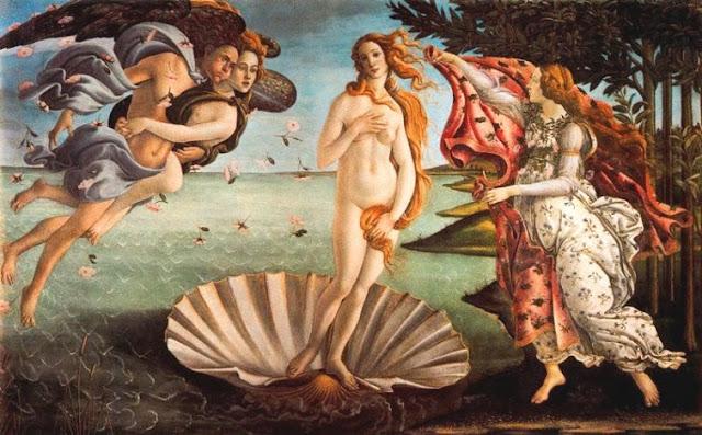 el nacimiento de Venus Sandro Botticelli