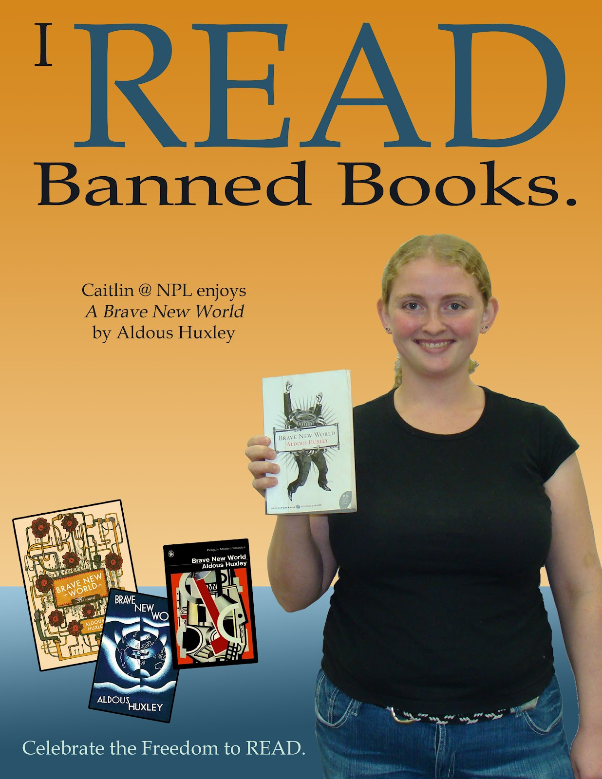 Neill Public Library NPL Staff Read Banned Books