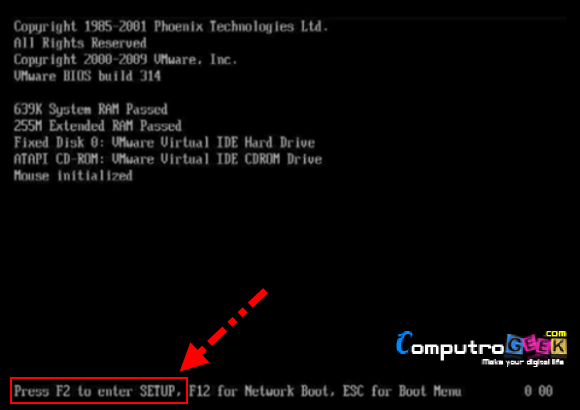 Boot From USB or External Device