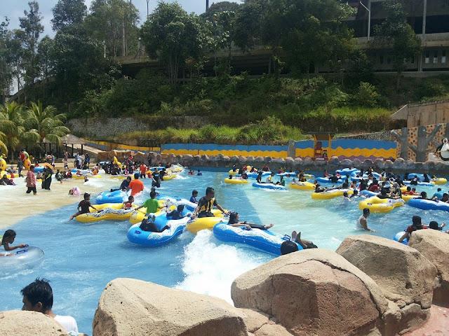 bercuti di gambang waterpark, homestay gambang waterpark, homestay murah gambang, homestay terbaik bercuti di gambang, sinaran qaseh homestay