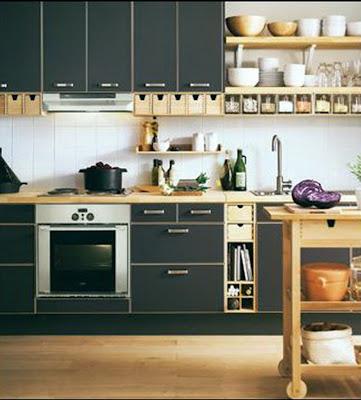 Inspiration For Modern Minimalist Kitchen Design With Green Kitchen