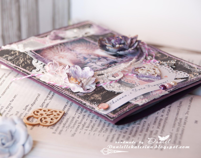 открытка+цветы+многослойность