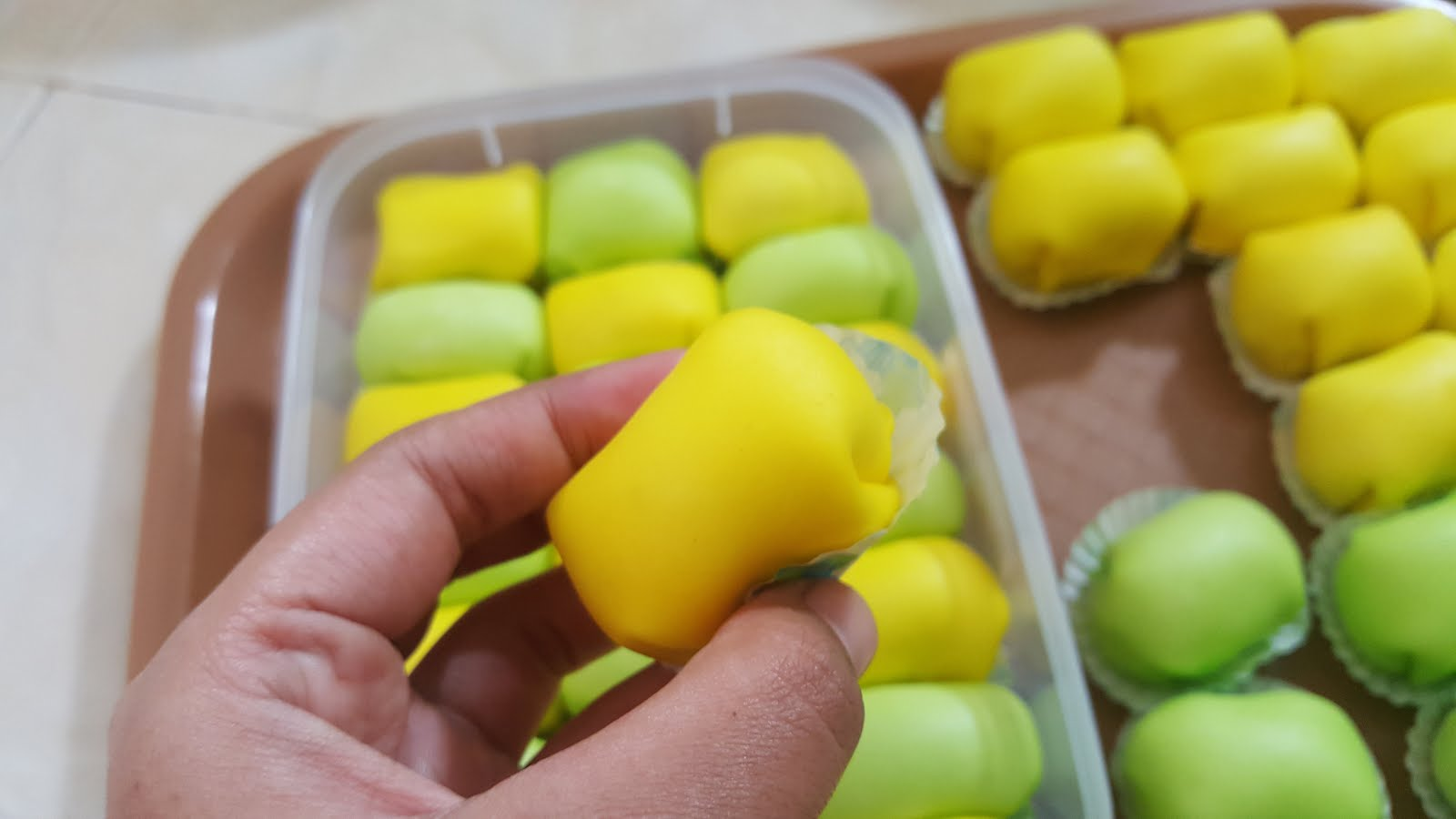 Pancake Durian Rasa Ori Pandan