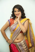 santoshini sharma photos in half saree-thumbnail-15