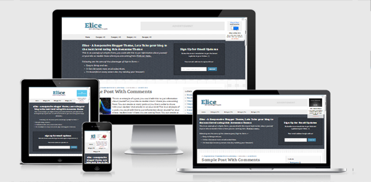Download Elice Responsive Blogger Template Free