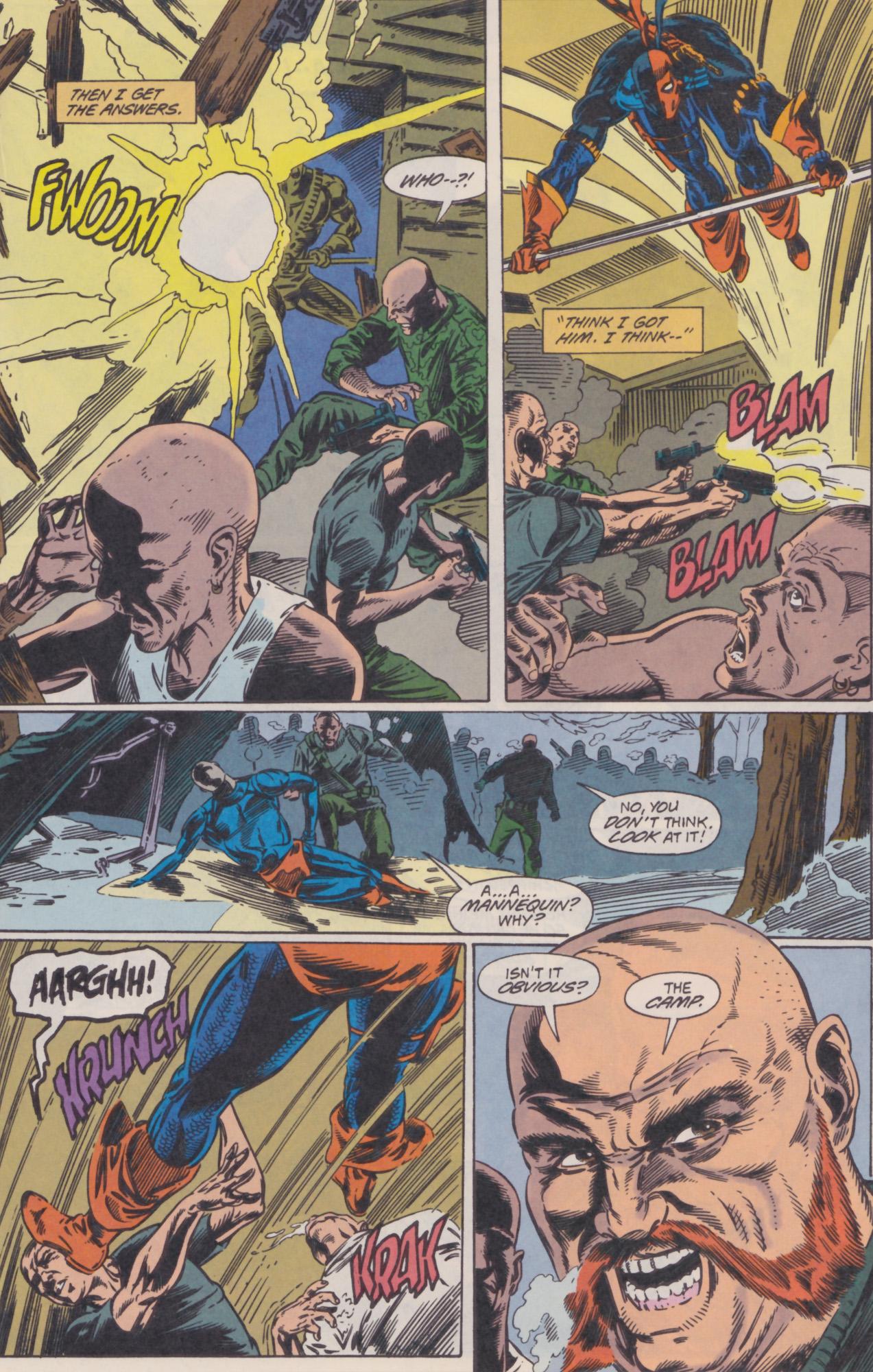 Deathstroke (1991) Issue #22 #27 - English 14