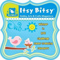 Winner @ Itsy Bitsy
