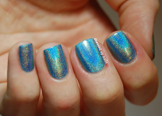 Dressed Up Nails - Color Club Over the Moon, Halo Hues Spring 2013
