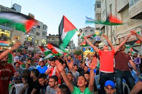 Palestine raikan Piala Bola Sepak Pertama