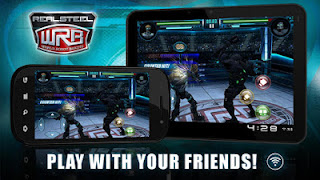 Game Real Steel World Robot Boxing Apk New Version