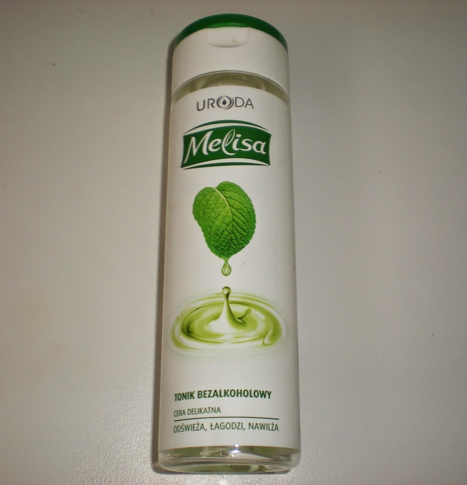 Tonik bezalkoholowy Melisa, Uroda