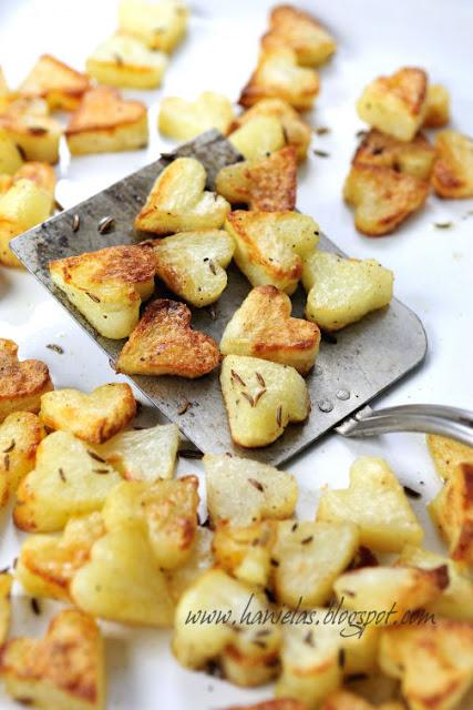 valentijns diner aardappeltjes