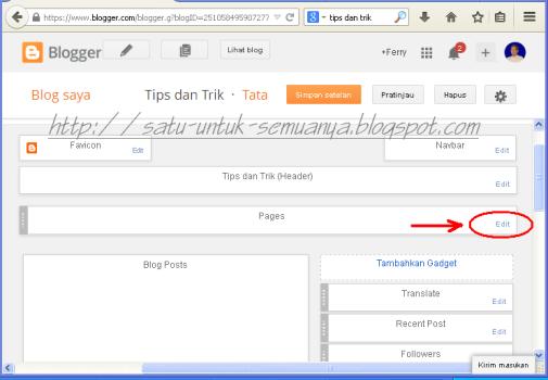 cara membuat laman tautan pada laman blog-2