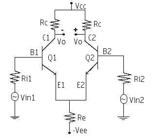 BJT DIFFERENTIAL AMPLIFIER TUTORIAL My Circuits 9