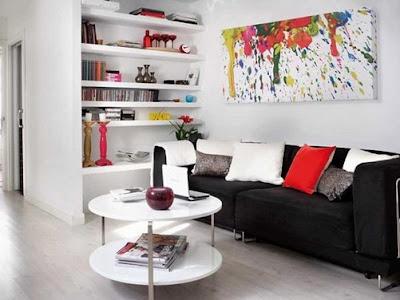 sala apartamento para hombre