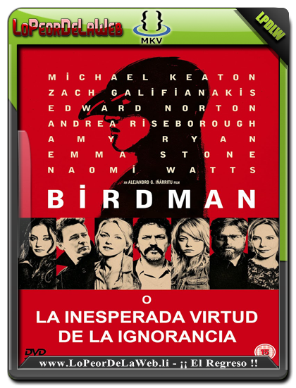Birdman (2014) WEB-DL 720p Latino-Ingles