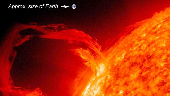 Hidrogen di Matahari