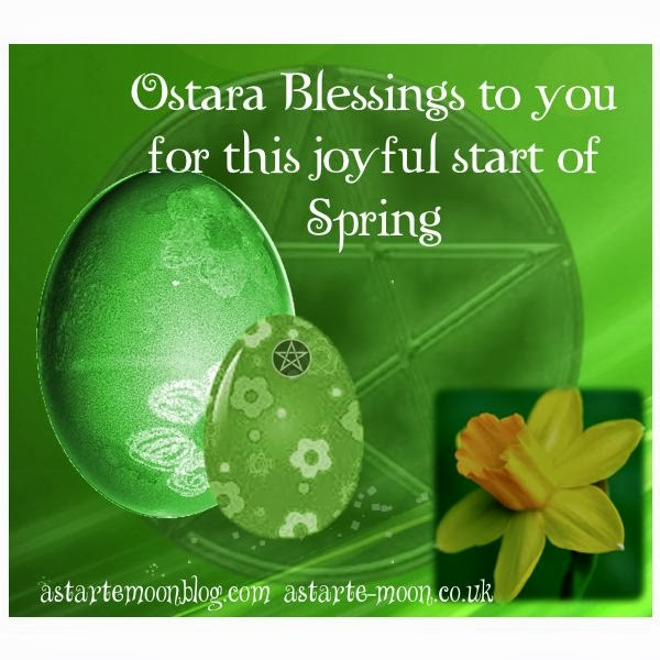 Astarte Moon Inspirations a life closer to nature's rhythms : Ostara Eostre Oestre blessings ...