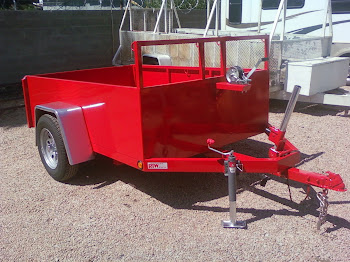 Tilt Bed Trailer