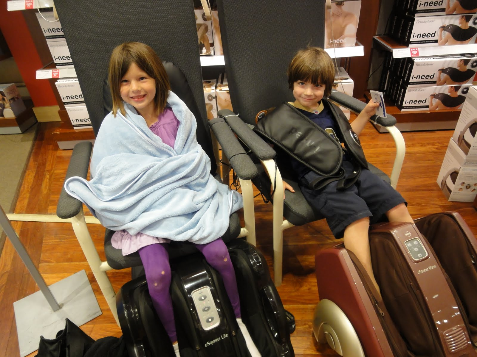 OC Mom Blog Brookstone The Leader in Specialty Products