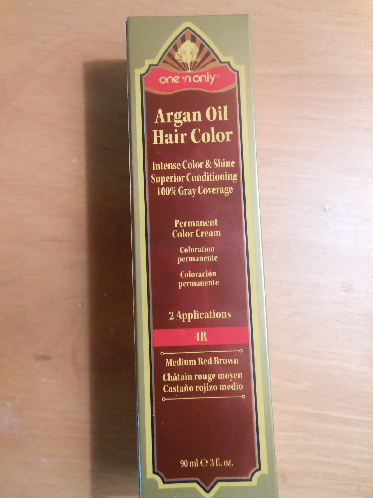 Hair Experiment One N Only Argan Oil Hair Color 4r Medium Red